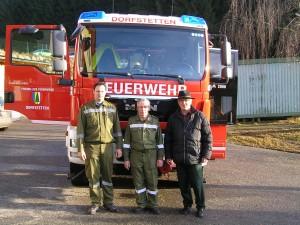 Feuerwehrauto-Dorfstetten