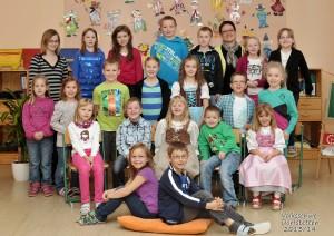 Gruppenfoto Volksschule Dorfstetten